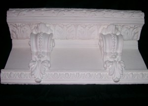 Plaster Crown from Chicago Mansion