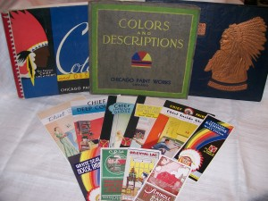 Sampling of Chicago Paint Works Memorabilia