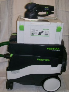 HEPA Dust Extractor and Orbital Sander