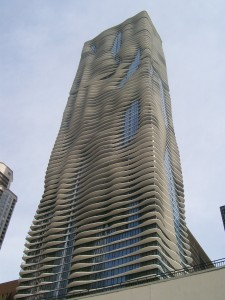Award-Winning Aqua Building on Chicago's Lakefront