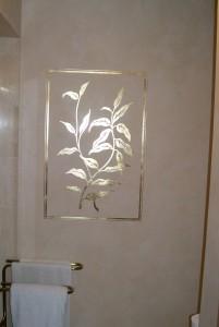 Gold Leafing over Venetian Plaster