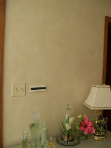 Lime-Based Venetian Plaster on Bathroom Walls