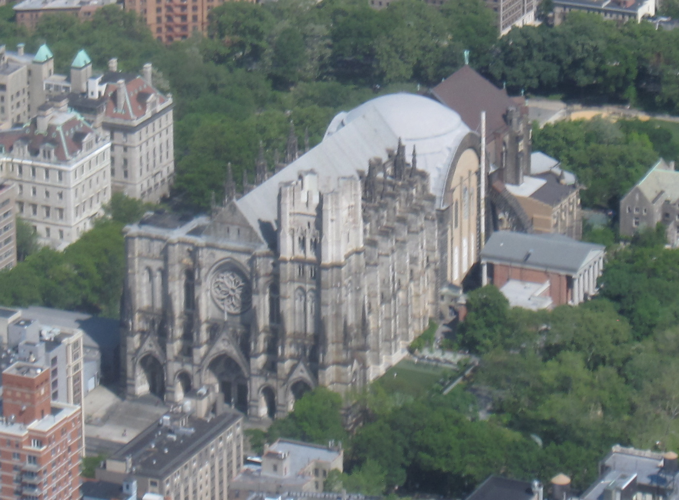 Cathedral Saint John the Divine in New York City - Courtesy of ...