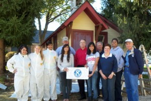 Paint Restoration Team - One-Room School House