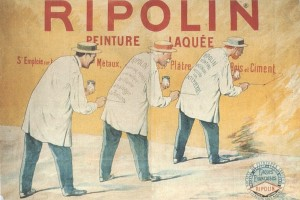 Old Ripolin Paint Label