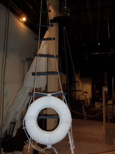 Mast Ladder for The Christmas Schooner