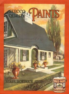 Seroco House Paint Catalog - Front Cover, circa 1916