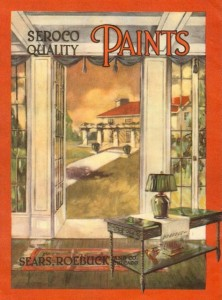 Seroco House Paint Catalog - Rear Cover, circa 1916