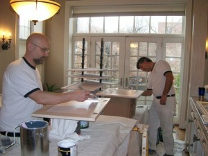 Cabinet Refinishing - Bonding Primer