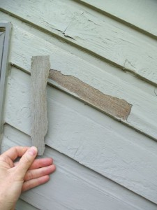 forensics of peeling paint on cedar siding painting in