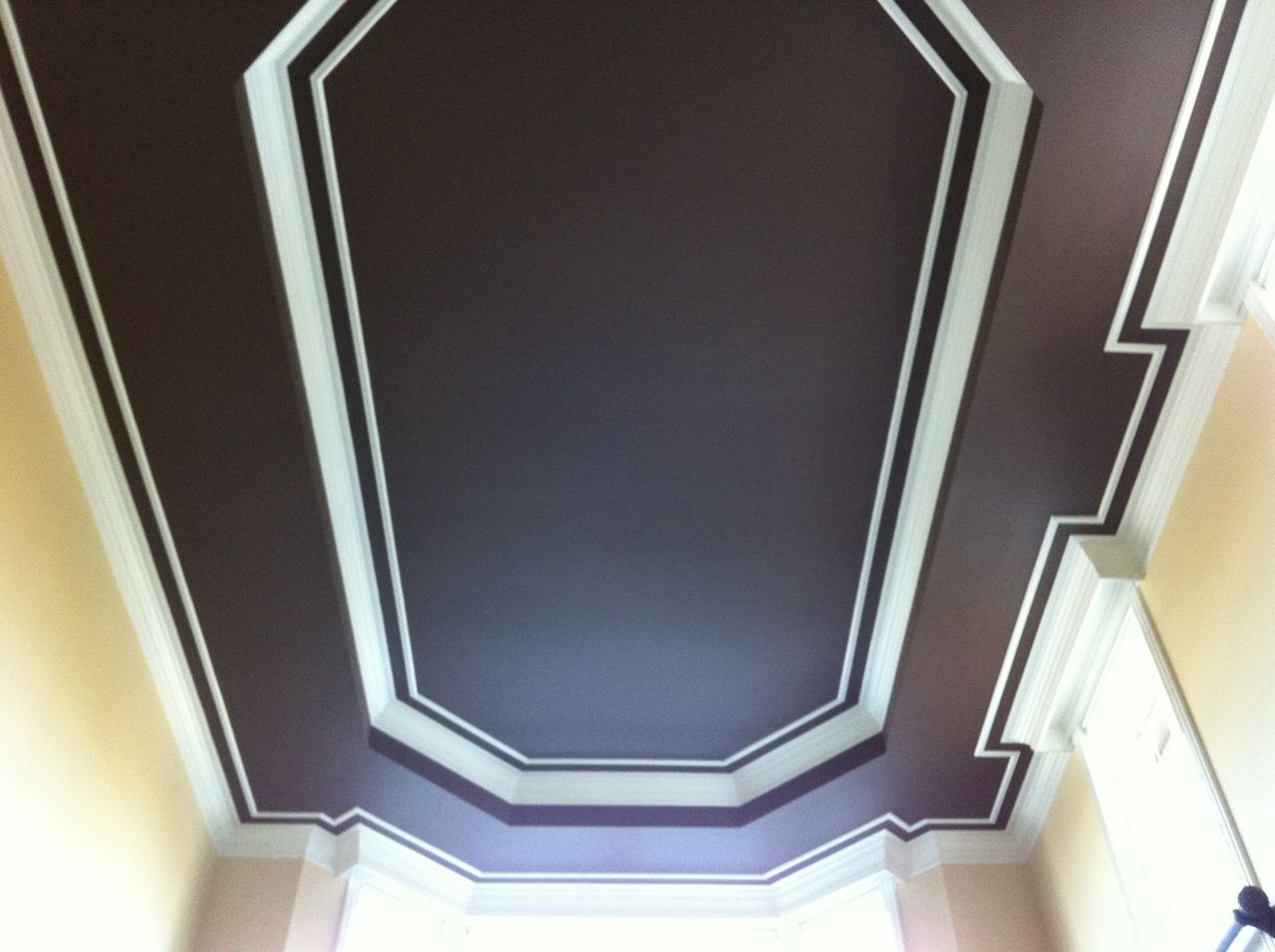 Painting A High Ceiling Why Not Give It A Little Panache