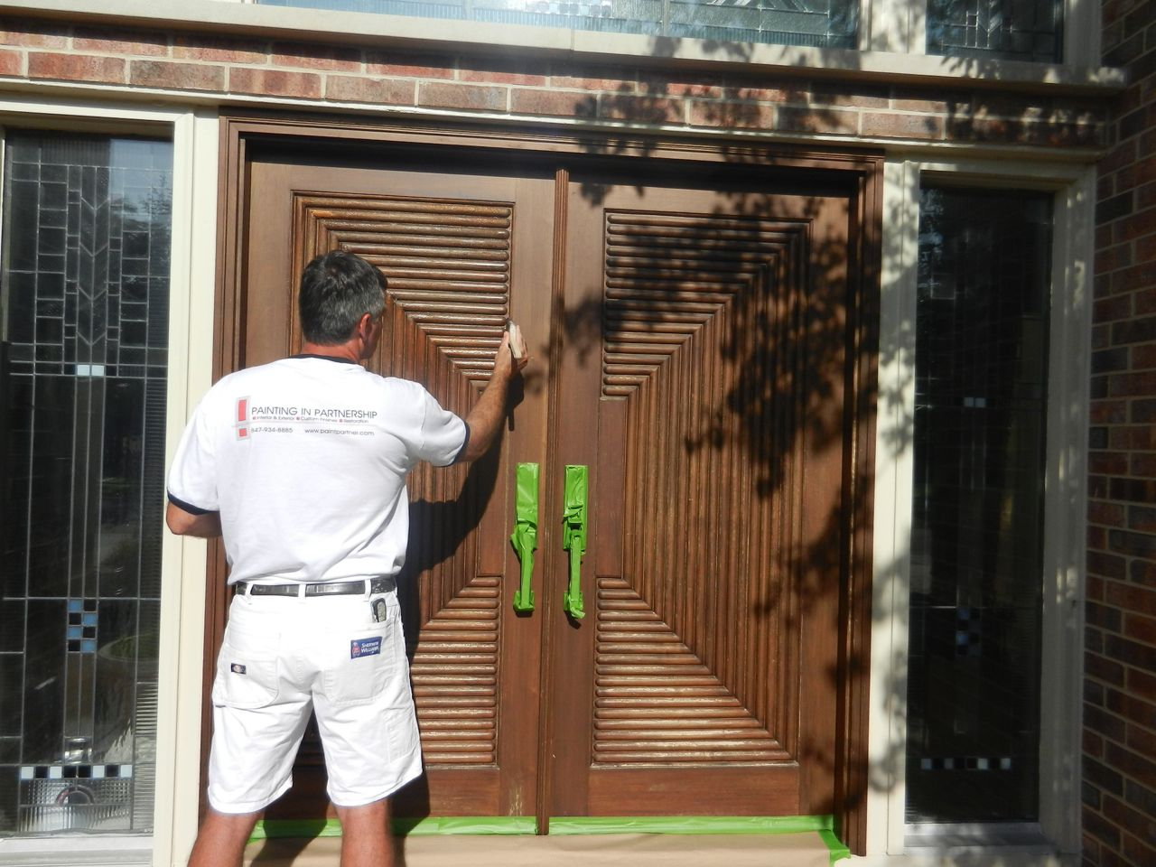 Another Set of Wood Front Doors Rescued From the Brink | Painting In ...