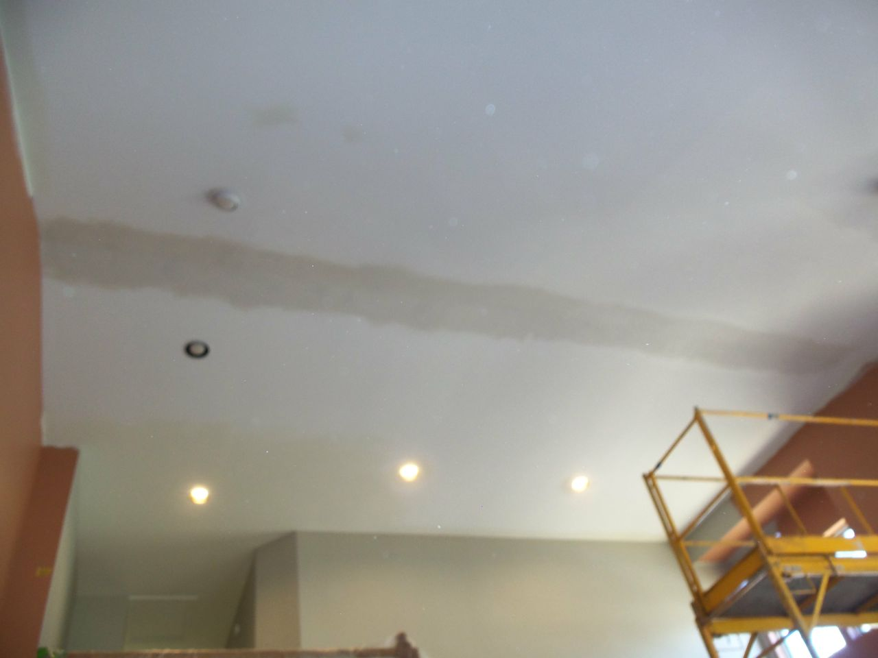 Repairing Cracks On High Ceilings Painting In Partnership