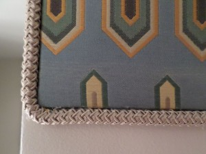 Detail of Missoni Upholstered Border
