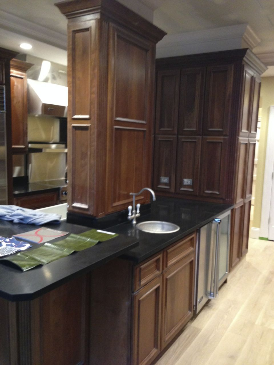 Painting Wood Cabinets Creating A Bold New Look For A