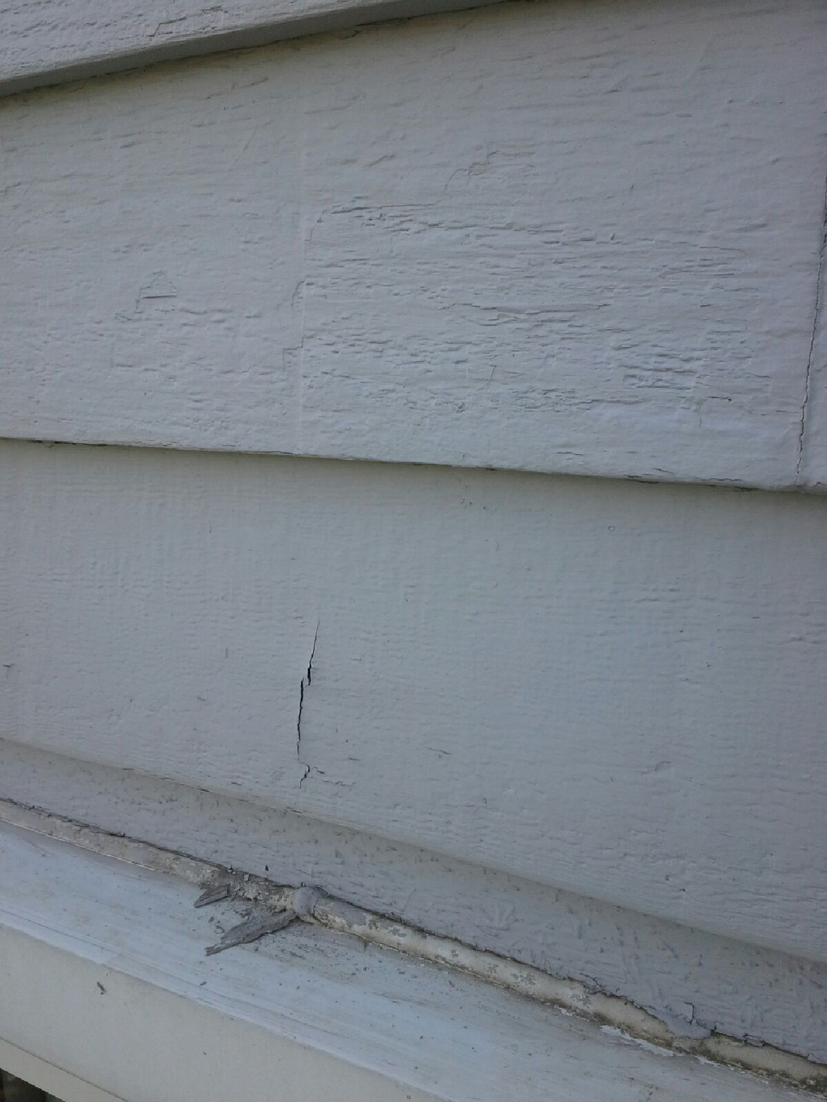 Peeling Solid Color Stain On Cedar Siding Painting In