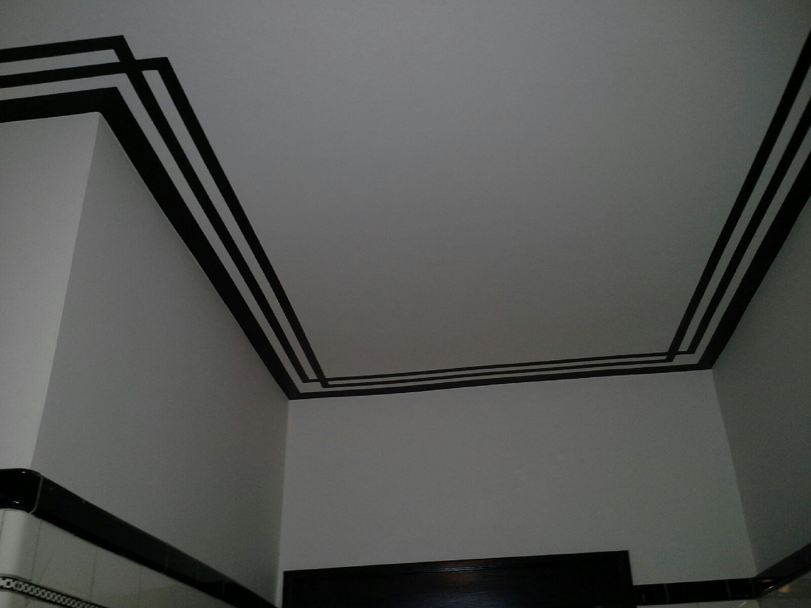 Painted Stripes Can Add Wow Appeal to a Ceiling | Painting ...