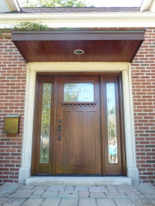 Front Door System - After Refinishing