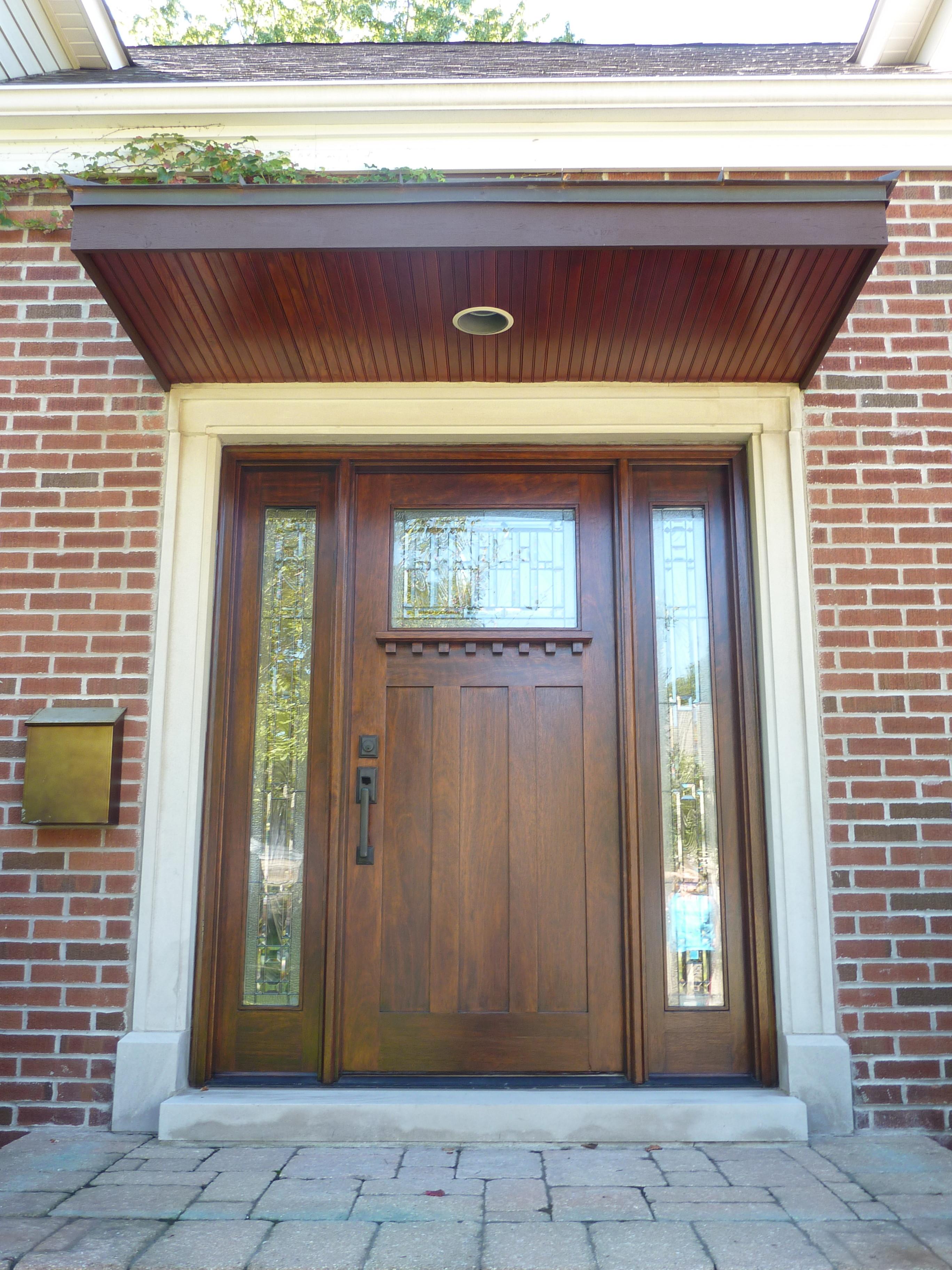 Exterior Door Canopy