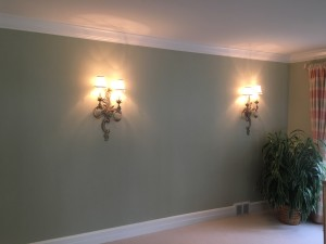 Restored Texture and Decorative Finish in New Color