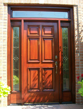 Front Door Refinishing Painting In Partnership Chicago