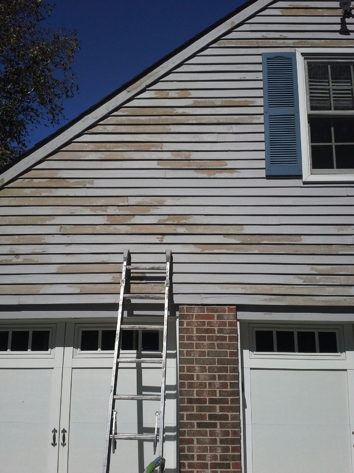 Ling Solid Color Stain Over Ceder Siding Part 3